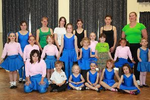Members of the Spilsby branch of the Silhouette School of Dance.