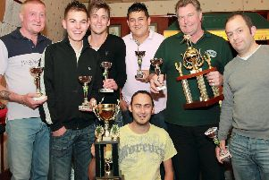 WMC Bandits 10 years ago. Pictured, from left, were Mick Smith, Jamie Turner, Scott Foreman, Jake Rayner, Alan Bell and Marc Pickworth; kneeling, captain Richard Smith. Not pictured, Pip Robinson.
