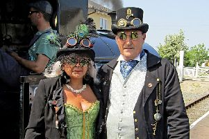 The Lincolnshire Wolds Railway will be holding a special three-day Steampunk-themed event EMN-190905-122512001