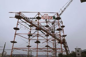 The new Altitude 44 attraction is nearing completion.