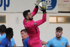 Elliott not concerned by Peter Crook's 'big saves' for Boston United