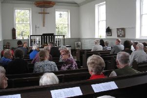 Wesleys Chapel at Raithbyby Spilsby will be opened to the public.