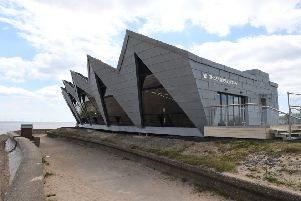 The North Sea Observatory on its opening.