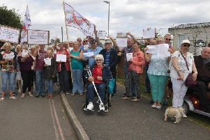 Caravanners who protested in 2017 face a new battle to stay on Kingfisher Caravan Site in Ingoldmells.