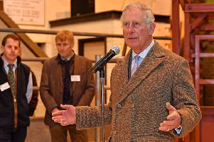 HRH The Prince of Wales at Louth Cattle Market. EMN-180319-124326001