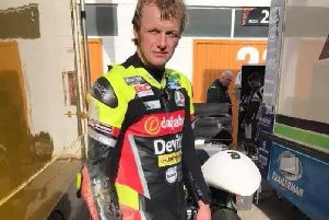 Ivan Lintin was critically injured in an incident in which another rider was killed in the Isle of Man on Thursday. EMN-180713-163247001