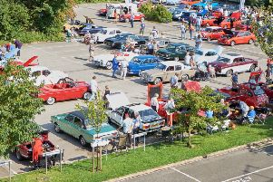 A picture from the Sleaford Classic Car and Motorcycle Show in 2017. Picture: SCCMS.