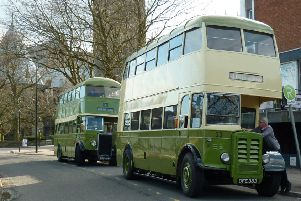 Free vintage bus rides are coming to Sleaford this weekend.
