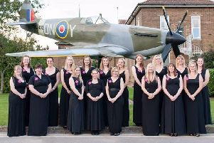 Set to help mark two milestones this year, the Military Wives Choir Digby.