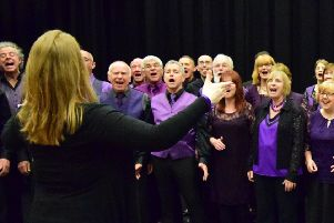 Syncapella are looking forward to their debut performance at St Denys' Church. EMN-180927-165433001
