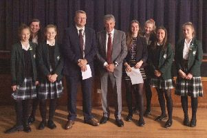 Pupils hear from former vice-chairman of Football Association