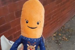 Limited edition Kevin the Carrot toys are sold out across the UK