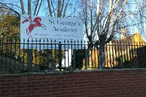 St George's Academy in Sleaford. EMN-190122-131253001