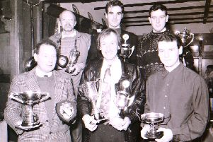 Prize winners at Sleaford Wheelers' annual awards lunch. EMN-190127-153122001