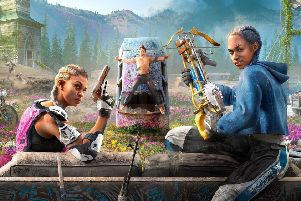 Psychedelic: Far Cry New Dawn