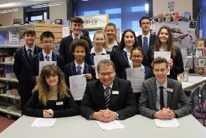 St George's Academy, in Sleaford, is celebrating the results of its latest Ofsted inspection.