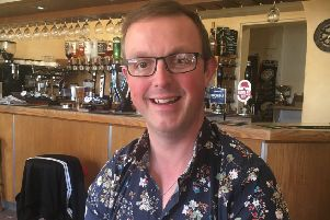 Marcus Hrubesch of the Solo Bar in Sleaford.