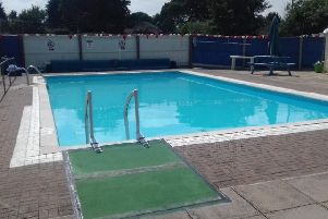 Heckington swimming pool before the latest refurbishments. EMN-190430-171618001