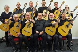 Solo Classical Guitar Ensemble will perform at St Denys' Church as part of Sleaford Live Festival. EMN-190424-154538001