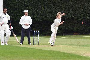 Max Lorimer impressed once again with his leg spin, picking up half of the Freiston wickets. Picture: David Dawson EMN-190514-084805002