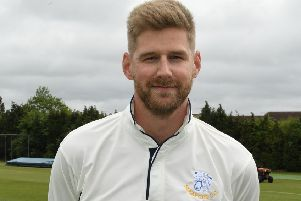 Andy Hibberd made a quick half-century at Scothern on Sunday EMN-190520-131951002