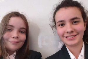 Jessica Nunn-Wright and Evie Sanger-Davies, of Sleaford, have been named BAFTA Young Game Designers finalists.