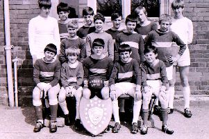The winning Sleaford Secondary Modern School under-13 football team. EMN-190306-135441001