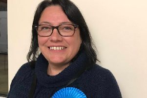 Newly elected North Kesteven District Councillor for Billinghay, Martin and North Kyme Ward, Amanda Sanderson. Photo: NKDC