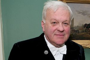 Toby Dennis of Rowston, the Lord Lieutenant of Lincolnshire. EMN-190717-170754001