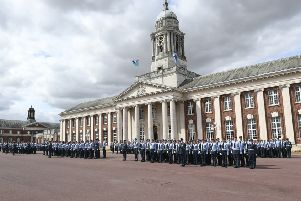 RAF College Cranwell, during 75th anniversary celebrations for the ATC.