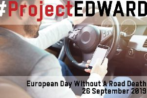 Project Edward - European Day Without A Road Death.