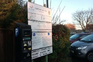 New ticket machines in Eastgate car park may require motorists to punch in their car registration numbers to cut out abuse of the free hour offer. EMN-190412-162046001