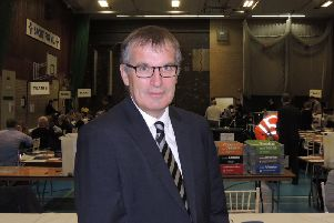 Returning Officer Ian Fytche.
