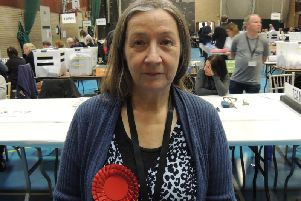 Labour party candidate Linda Edwards-Shea.