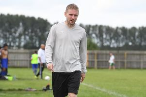 Sleaford Town boss Jamie Shaw has worked hard to keep the team afloat in another tough season