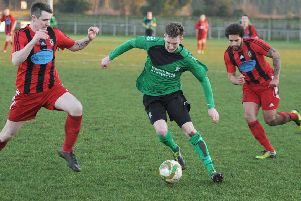 Liam Tunstall in action for Sleaford in 2015 EMN-200901-160720002