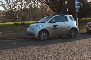 The county council's CCTV car has been scrapped due to cost in favour of more foot patrols outside schools. EMN-200121-122420001