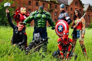More heroes wanted to join Sleaford's Heroes Assemble. EMN-200402-104616001