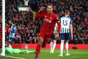 Virgil Van Dijk was the only Liverpool player to make Steve McClaren's combined XI. Fair? Photo: GettyImages