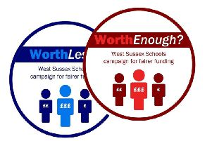 Worth Less? campaign logo