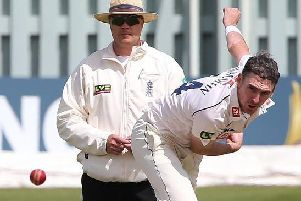 Steve Magoffin took 340 wickets in 89 appearances for Sussex