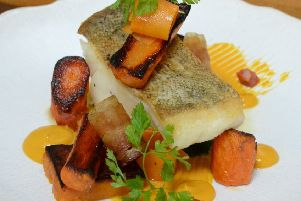 Cod supreme with butternut squash