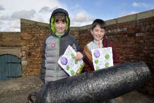 Redoubt Fortress. Twins Arthur and Seth 8 (Photo by Jon Rigby) SUS-180204-115704008