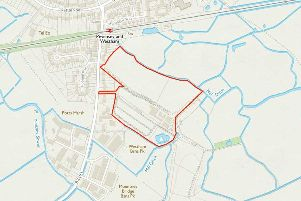 The location of the proposed site on Eastbourne Road, Westham SUS-180626-164100001