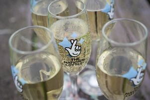 Cheers: 67 Brighton and Hove residents have celebrated million pound lottery wins since 1994