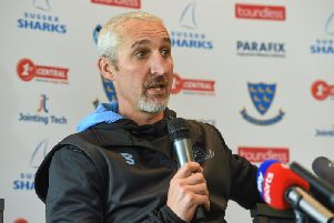 Jason Gillespie says Sussex have made progress - but have a way to go / Picture by PW Sporting Photography