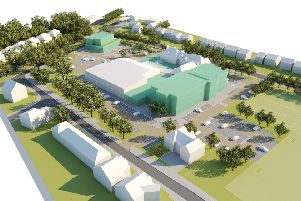Impression of what the new Health Hub in Seaford will look like SUS-180210-134605001