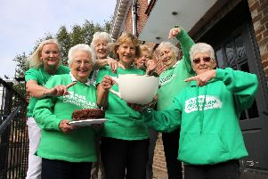 Members of Macmillan cancer support group in Uckfield