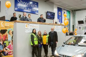 Shoreham Vehicle Auctions wants to push the boundaries and expects this year to smash through the �100,000 mark