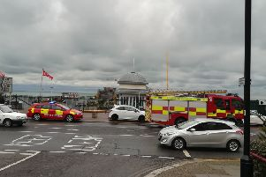 Hastings Pier has remained closed since a fire on Saturday morning